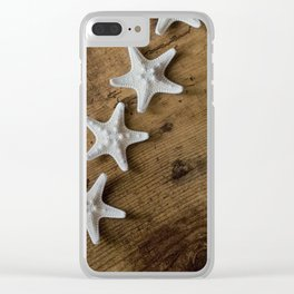 starfish #10 Clear iPhone Case
