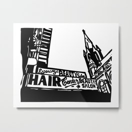 Bushwick Ave Brooklyn Metal Print