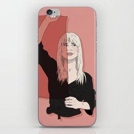 Rose-Colored Girl iPhone Skin
