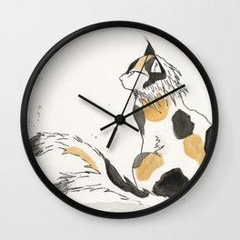 Nekomata Wall Clock