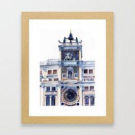 St Mark's Clocktower Framed Art Print
