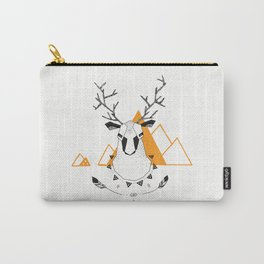 Geo Deer Carry-All Pouch