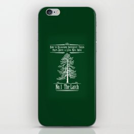 No. 1 The Larch iPhone Skin