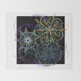 Pinwheels Throw Blanket