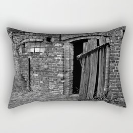 Old abandoned barn Rectangular Pillow