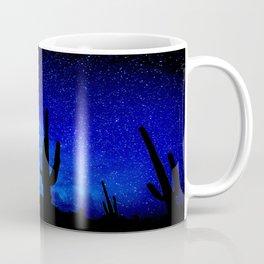 The Milky Way Blue Coffee Mug