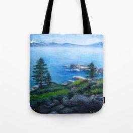 Lake Tahoe Lake of the Sky Tote Bag