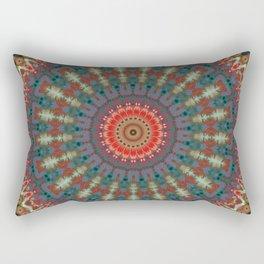 Basal Color Mandala 10 Rectangular Pillow