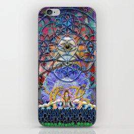 Space Shiva iPhone Skin