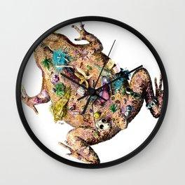 stuff toad Wall Clock