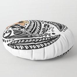 Polynesian Tribal Floor Pillow