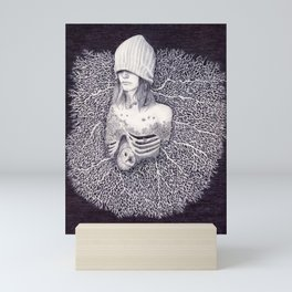Shipwrecked Mini Art Print