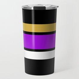Team Colors 2...Purple, gold Travel Mug