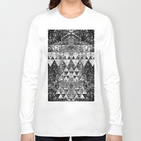 triangles Long Sleeve T-shirts featuring TRIANGLES. by Council for design.