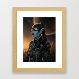 They Came From The Stars Framed Art Print
