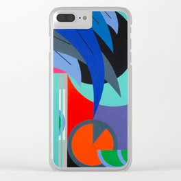 Absolut at Night - Paint Clear iPhone Case