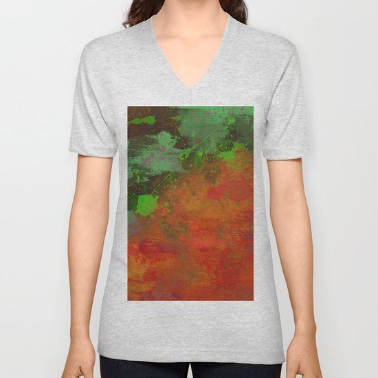 A Difference Of Opinion (Abstract painting) by printpix