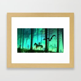 All Zombies Now Framed Art Print