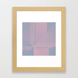 Pastel Pane Framed Art Print