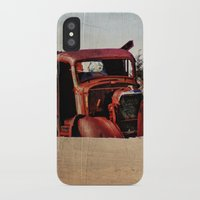 truck iPhone & iPod Cases featuring Survivor Truck by PamelasDreams