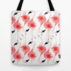 Flamingos! Tote Bag