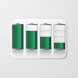 Battery Charge Indicator Bath Mat