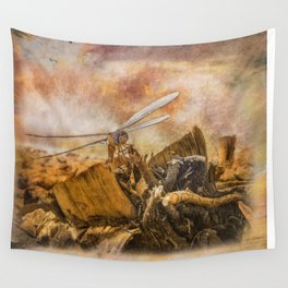 Dragonfly Dreams Wall Tapestry