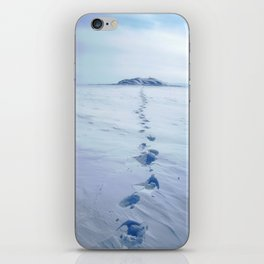 A Long Walk iPhone Skin