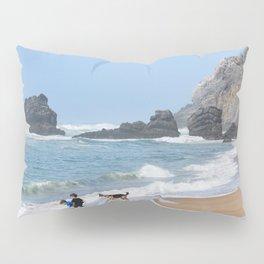 Praia da Adraga beach, Portugal Pillow Sham