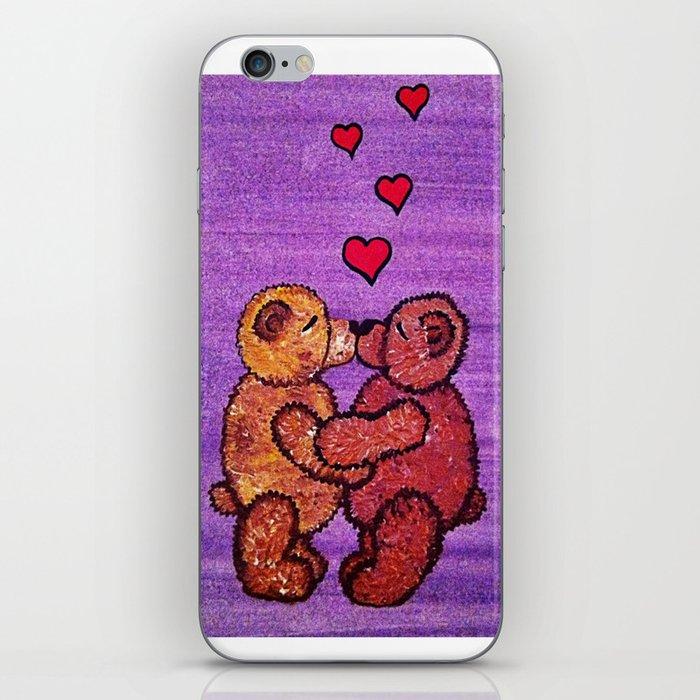 Bears in love iPhone Skin