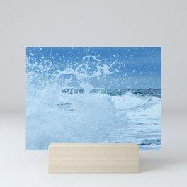 Exploding Surf Mini Art Print