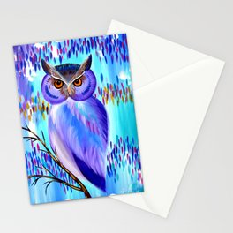 Equinox Owl Stationery Cards
