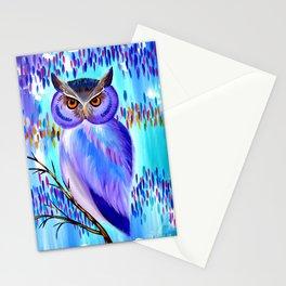 Equinox Owl Stationery Cards