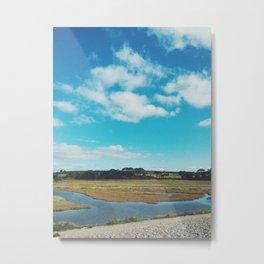 Estuary Skies Metal Print