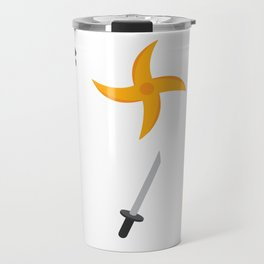 Leather Ninja Travel Mug