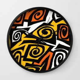 FRETWORK Wall Clock