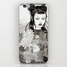 the frog princess iPhone & iPod Skin