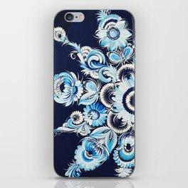 Snowflake in Petrykivka style iPhone Skin