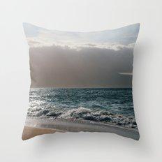 Sunny Shore Throw Pillow