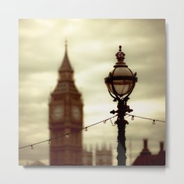 Stands the clock Metal Print