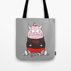 Pink Monster Kills Tote Bag