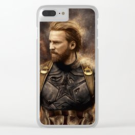 Steve Nomad Rogers Clear iPhone Case