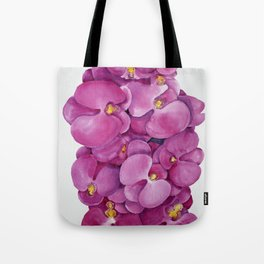 Watercolour Orchid Bloom Tote Bag