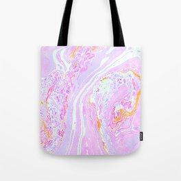 Marble Pastel Pink Tote Bag