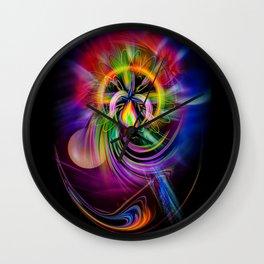 Abstract Perfection 60 Wall Clock