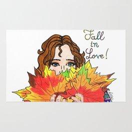 Fall in love Rug