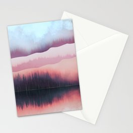 Valentine Forest Stationery Cards