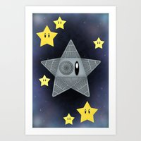 death star Art Prints featuring Death Star by Verreaux