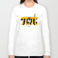 pi Long Sleeve T-shirts featuring PI by bisualhart