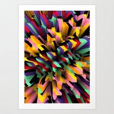 Pixx Art Print
